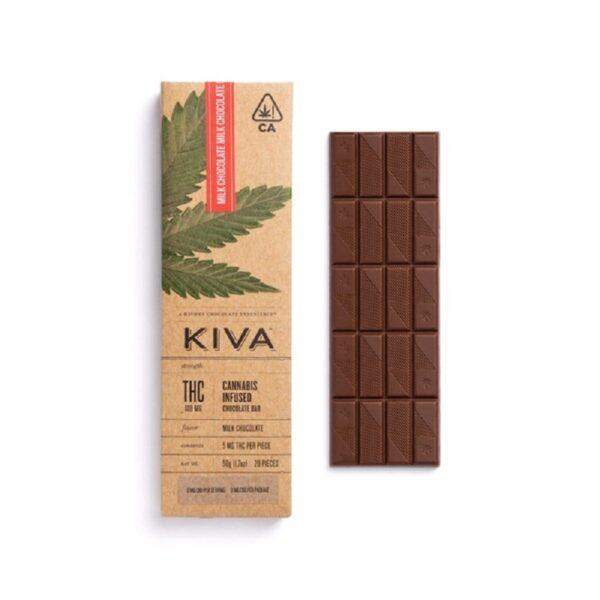 Milk Chocolate Kiva Bar