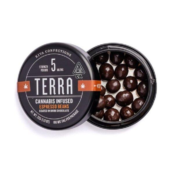 Terra Dark Chocolate Espresso Beans