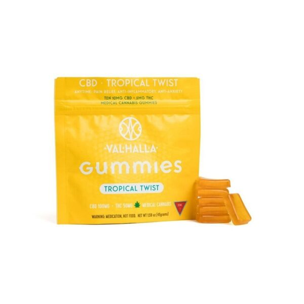 Tropical Twist CBD Gummies